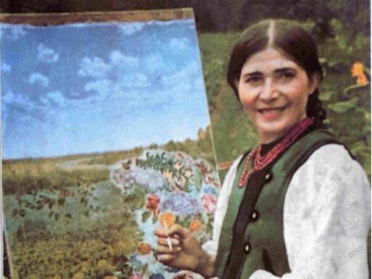 7 грудня – 115 років від дня народження Катерини Білокур