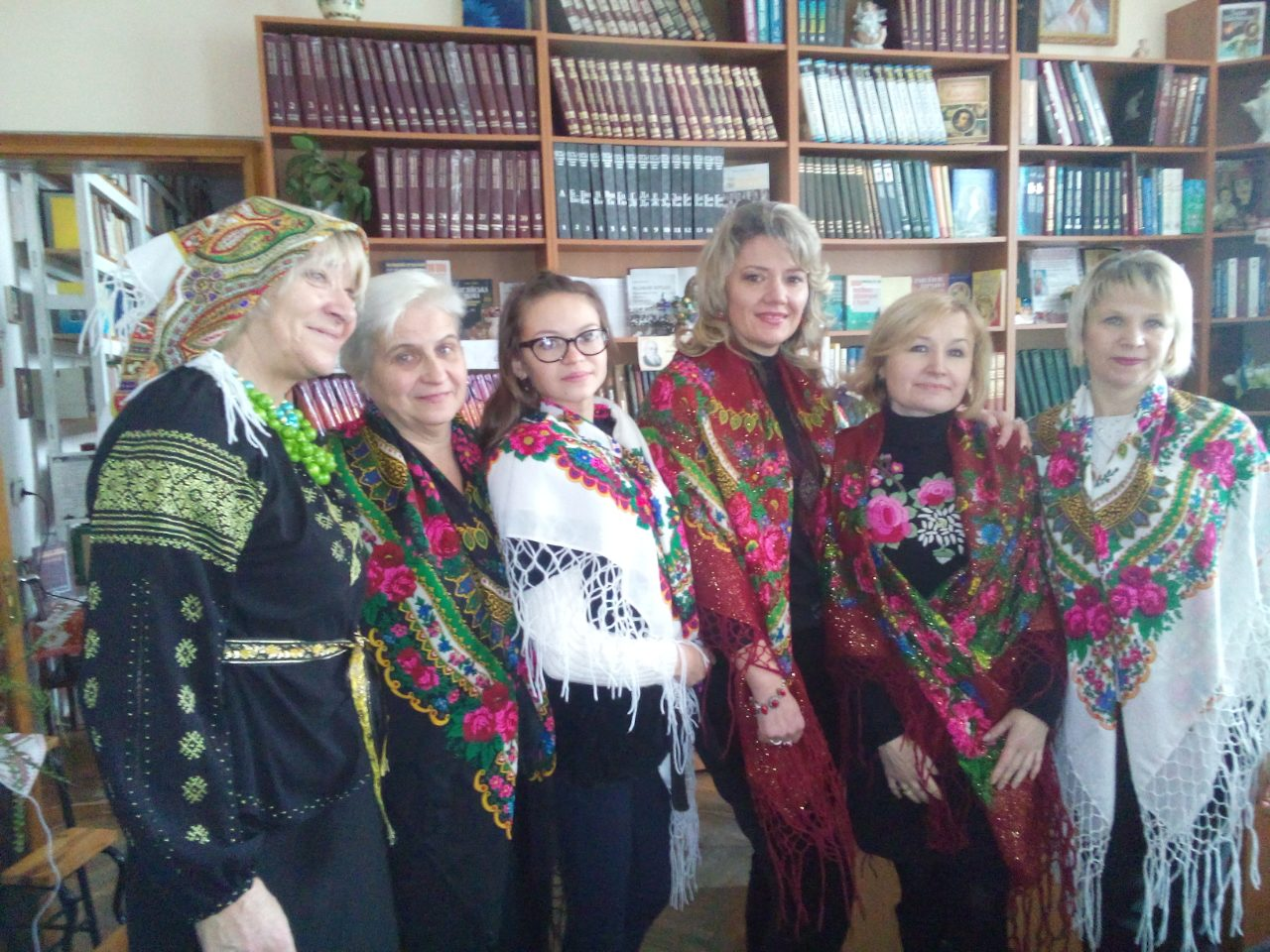Андріївські вечорниці у бібліотеці.