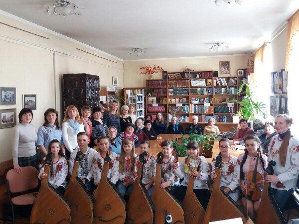 Шевченкове свято в бібліотеці
